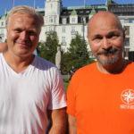 Erik Selle og Marius Reikerås sammen for barns rettigheter